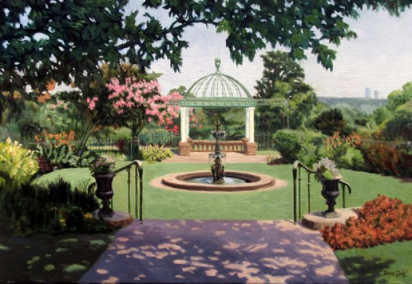 Gilcrease Formal Garden